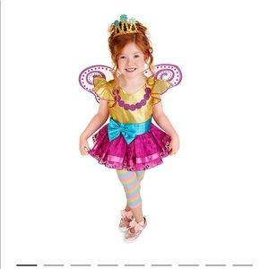 Disney princess toddler girl fairy dress size 5/6